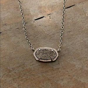 Kendra Scott drusy Elisa necklace